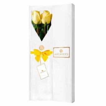 Rosas amarillas Amorecci
