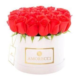 caja rosas importadas selectas