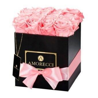 roses whit box