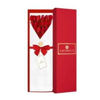 caja roja muy hermosa