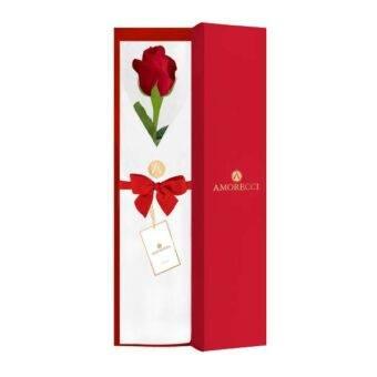 delicada rosa roja