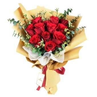 Ramo rosas rojas Amorecci