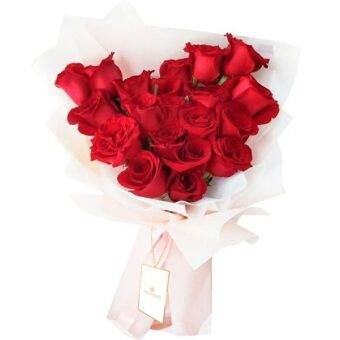 Ramo hermoso de rosas Amorecci