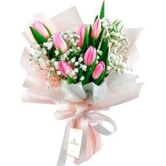 Ramo de tulipanes Amorecci