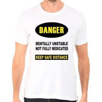 camiseta para hombre Danger